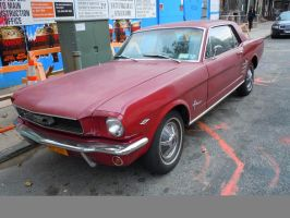 1966 Ford Mustang by Brooklyn47