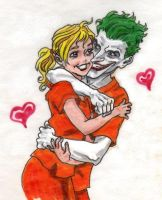 Arkham's cutest couple take 2 by Magzdilla