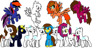 Pony collab 2 by jazzlovessilkies