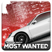 Need for Speed: Most Wanted HQ DOCK ICON +Logo PNG by Djblackpearl