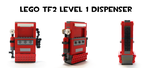 Lego TF2 Level 1 Dispenser by HybridAir