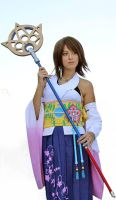 Yuna summoner cosplay by HikkiKatastrophic