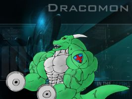 Dracomon by Berni8