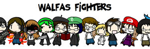 Walfas Fighters Poster by AIYFProductions