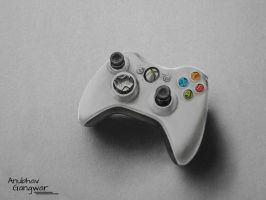 Xbox 360 Controller - Drawing by Anubhavg