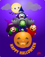 Happy Halloween 2010 by 71ADL17
