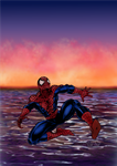 Spiderman 2 --Colours by LisaSky-Art