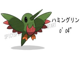 Humming Bird Fakemon by TRspicy