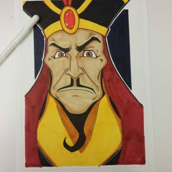 Jafar the Arabian Nightmare colored and finished. by drtidigler