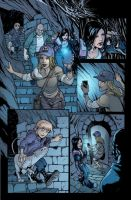 Hack/Slash: Son of Samhain coloring samples 03 by kmichaelrussell
