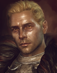 Cullen Rutherford model edit portrait by Kaeriah