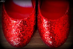 Wicked Ruby Red Slippers 1 by Poet515