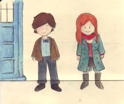 The Doctor and Amy by whosname