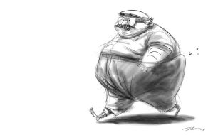the Great Eric Goldberg by davidsdoodles