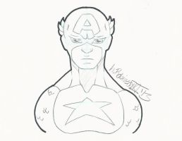 10 Minute Captain America by Soulbrotha