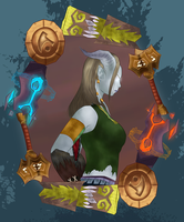 WoW - Cyonnei of the Elements by MoonWhing