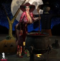 MILF Witch by Chup-at-Cabra