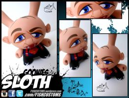 Goonies Sloth dunny by F1shcustoms