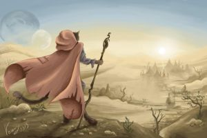 The Elder Scrolls: The road to the Warm sands by vopoha
