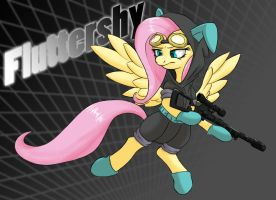 Fluttershy by DarkSittich