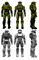 Low Poly Master Chief by ShoTro