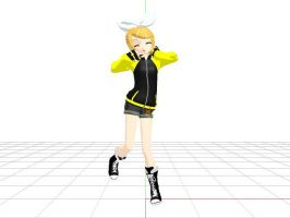 MMD - Kagamine Rin WorkOut Download by PandaSwagg2002