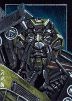 Ratchet - Sketch Card by J-Redd