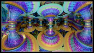 Psychedelic Dervishes by eccoarts