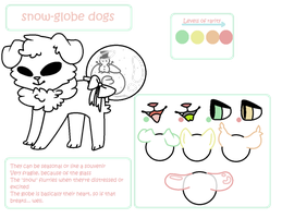 Snow Globe Dogs: Semi-Open Species by deerful