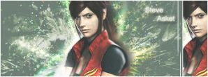 ::Claire Redfield sig:: gift by Claire-Wesker1