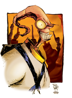 Earthworm Jim by fafio
