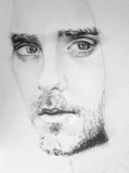 Jared Leto WIP by voodugirl