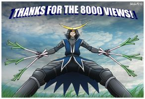 THANKS FOR THE 8000 PAGEVIEWS by sheiku92