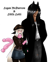 Logan and Lotti Colored by Winter-Falls