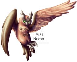 I loves me my Noctowl by GrayWolfShadow