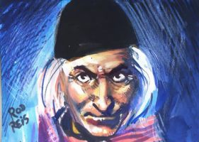 First Doctor Sketchcard by RodReis