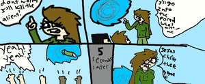 The comic of claire by KJID