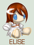 Sonic Plushie Collection: Elise by WingedHippocampus