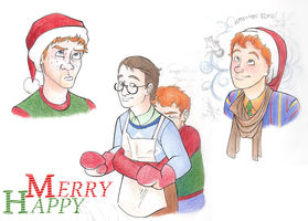 Holiday Gingers by Hikariforce