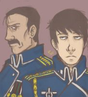 The Fuhrer and The King by SamColwell