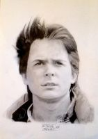 Marty McFly Pencils by Steve-Nice
