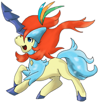 keldeo new form 2 by Bloo-DKai12