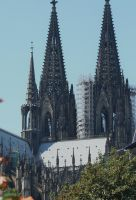 cologne dome in summer2012 by ingeline-art
