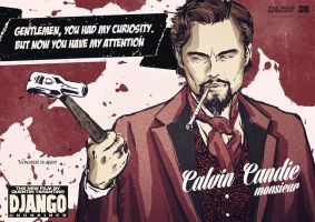 Calvin Candie from the movie Django Unchained by PJ-DZIATZKO