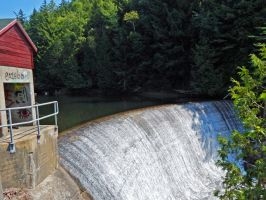 Hydroelectric resevoir by sadaciC