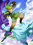 Skyward Sword: Link and Fi by MissAudi