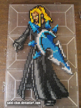 Commission: Vexen Organization XIII Bead Sprite by Saint-chan