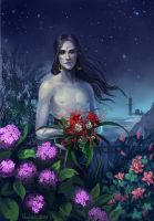 Kamoril and Flowers by Nochiel