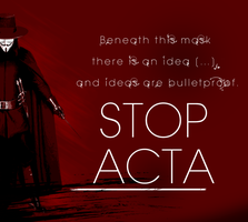 Stop ACTA ! by Grasuc