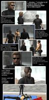 Wesker Pro wrestling lessons by redfield37
